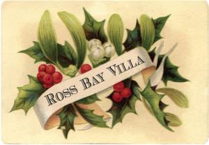 Ross Bay Villa Christmas