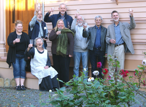 Ross Bay Villa Society Board October 23, 2015 raise a glass to that day's Ownership