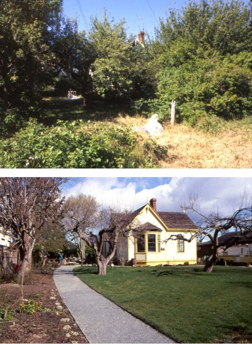 RVB Garden BEFORE and AFTER