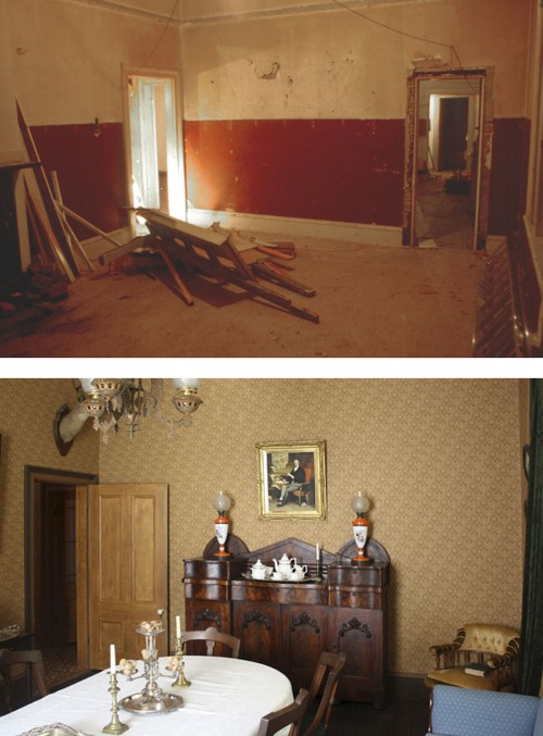 Ross Bay Dining Room BEFORE & AFTER RESIZED