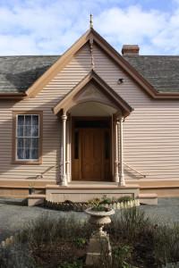 Entrance Ross Bay Villa