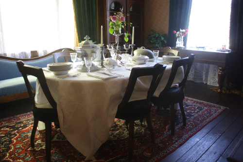 Dining Room Ross Bay Villa Summer 2015