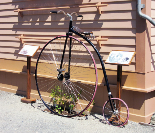 Ross Bay Garden Party 2015 Penny Farthing on display from Russ Hay's Bicycle Shop
