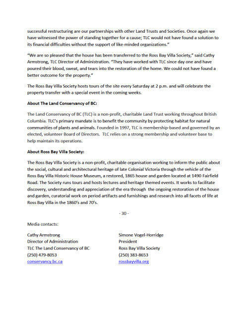 Ownership Press Release page 2