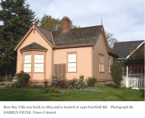 Ross Bay Villa from Times Colonist